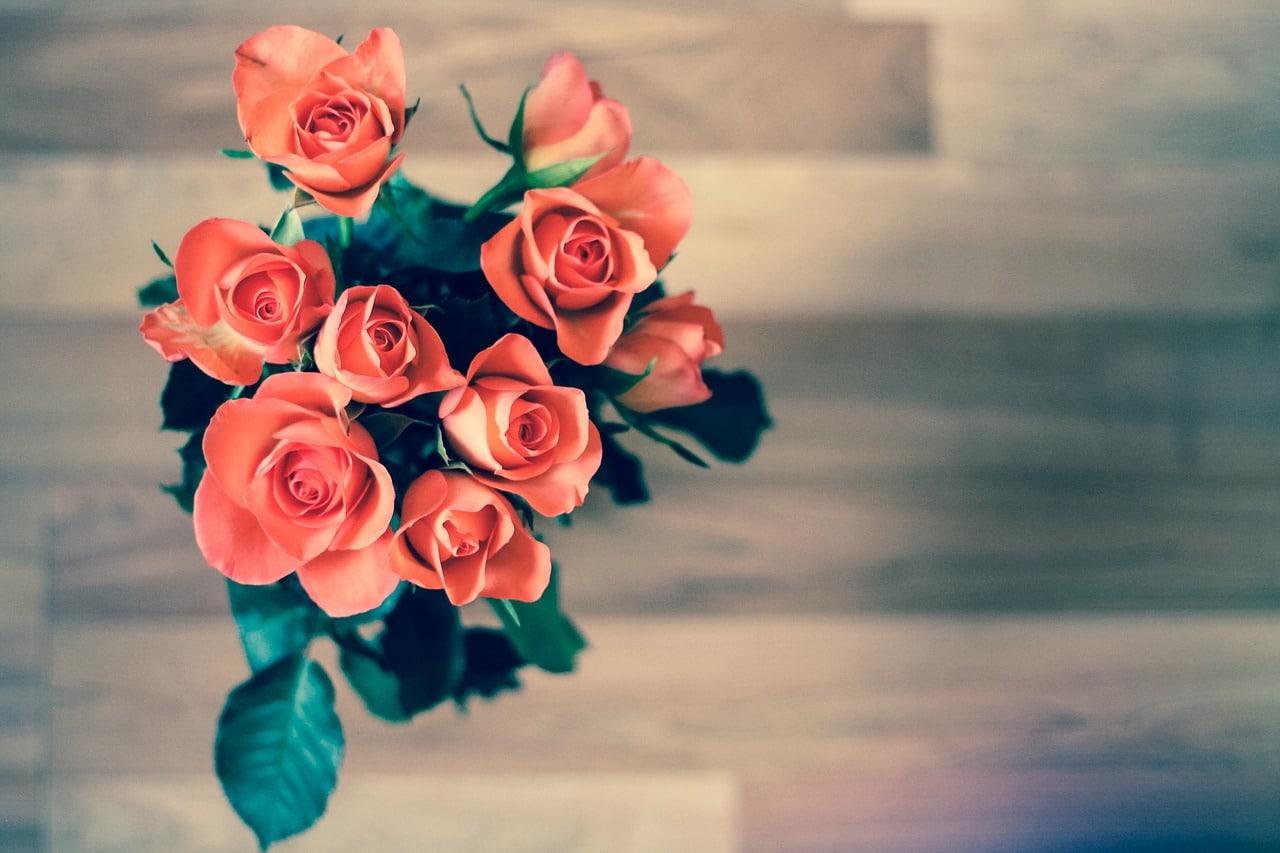 Offrir des roses la signification