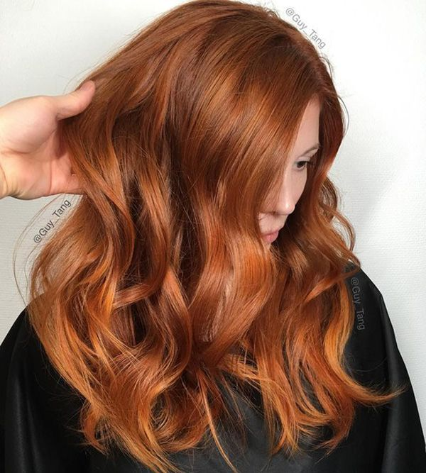 cayenne spice red hair cheveux