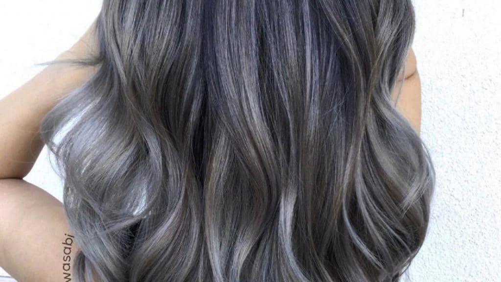 charcoal couleur cheveux