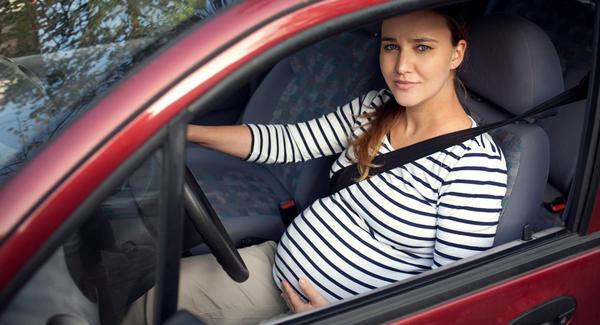 se deplacer en voiture enceinte