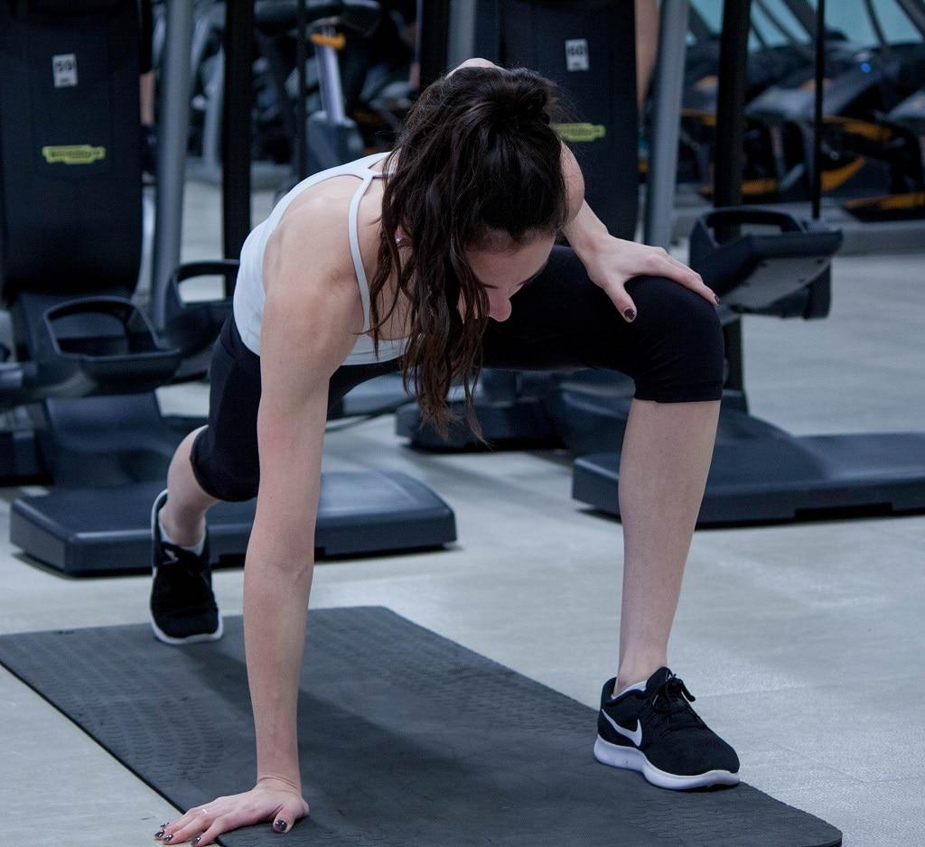 femme sport proteine whey