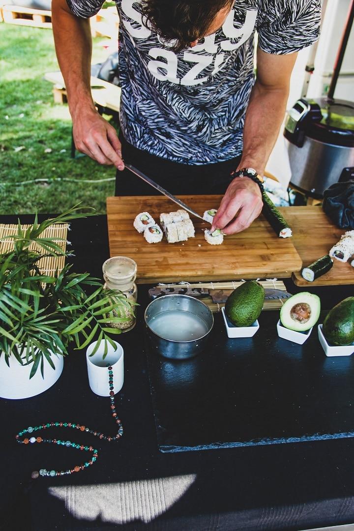preparer sushi maison