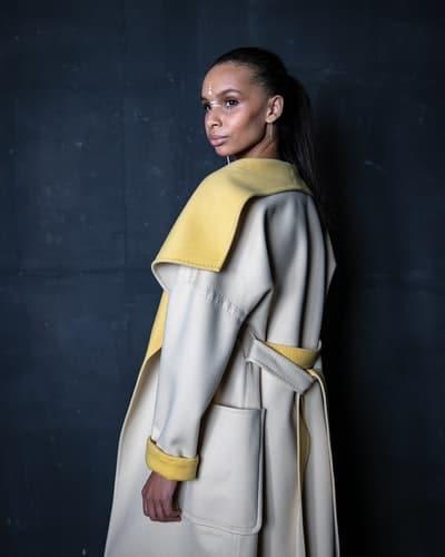 trench coat bi colore tendance 2019