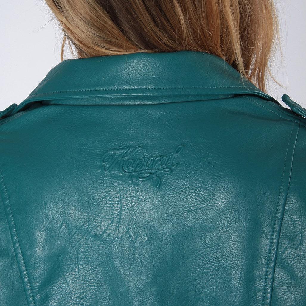 veste biker bleu canard kaporal tendance 2019