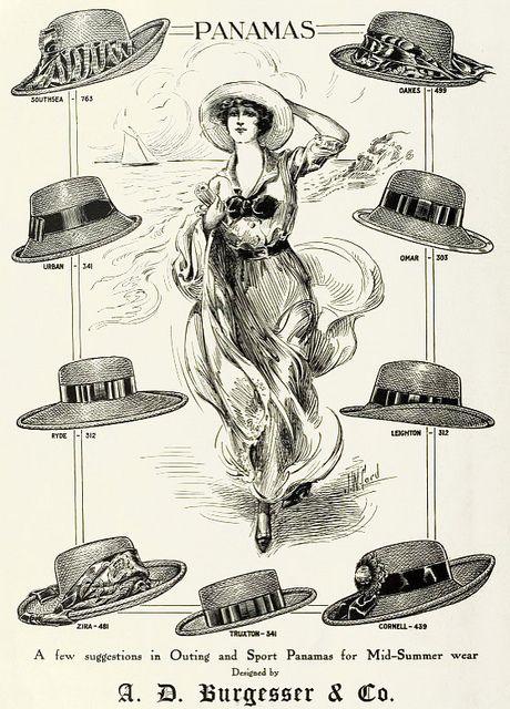 chapeau panama histoire