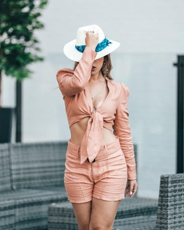comment porter le chapeau panama tendance 4