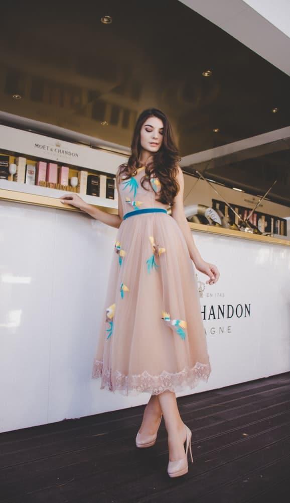robe midi tendance ete 2019