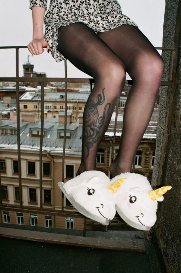 chausson licorne tendance