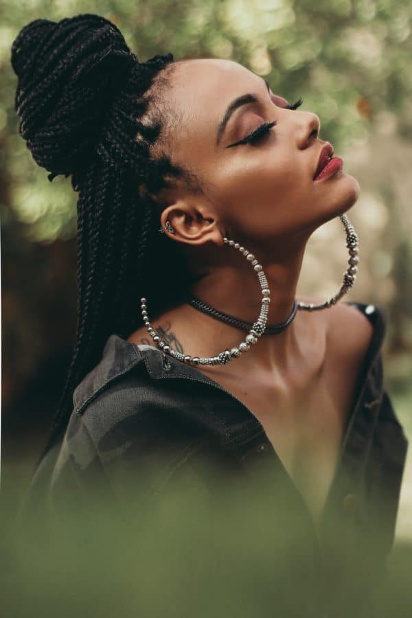 coupe afro tendance tresse