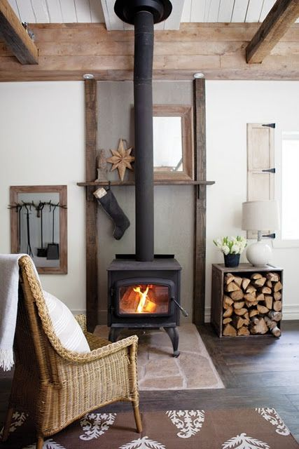 poele à bois design