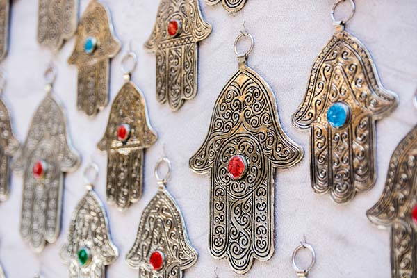 amulettes main de fatma