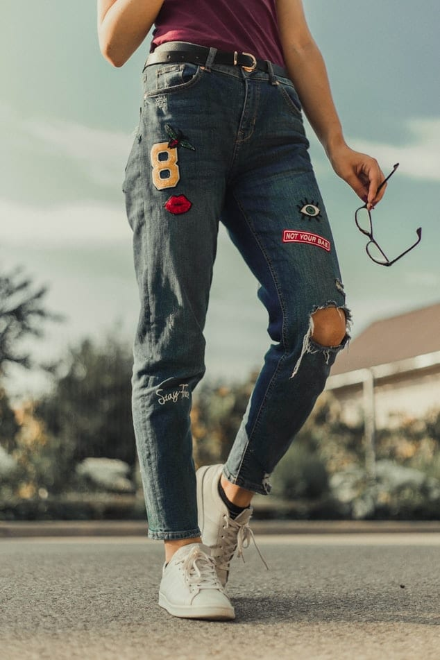 comment porter le jean boyfriend