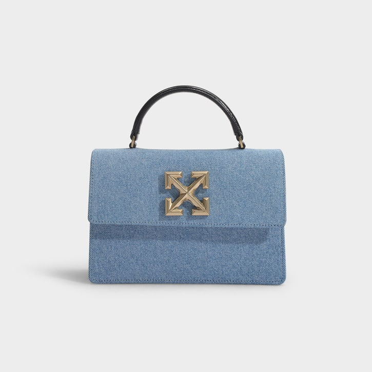 sac a main d eluxe en jean denim Off White