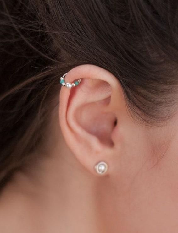 anneaux de perles