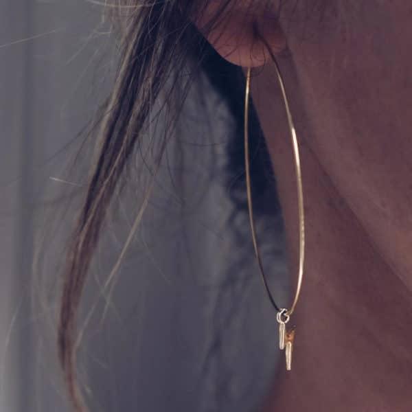 boucles d'oreille 9 avril bijoux