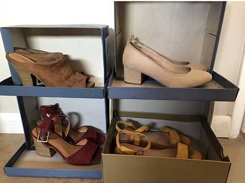 La boite à chaussures DIY pour ranger ses chaussures