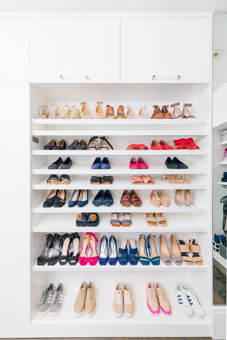 vitrine à chaussures