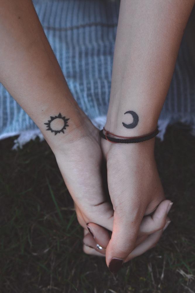 tatouage lune