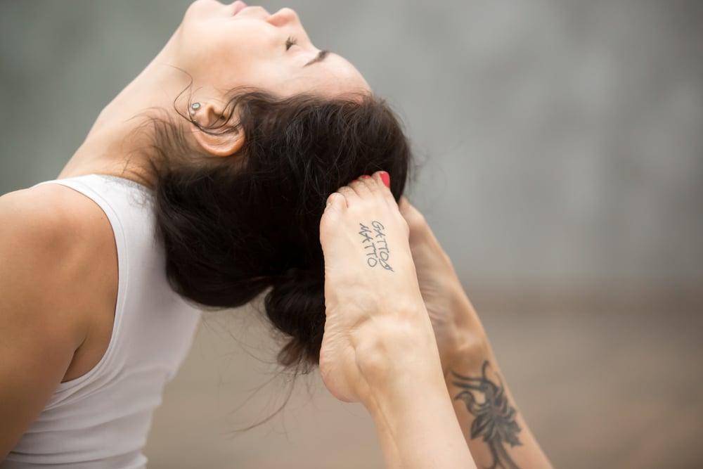 tatouage sur la cheville