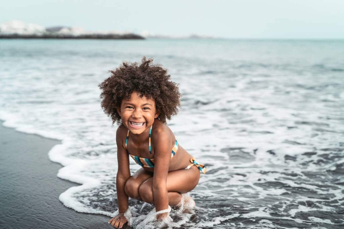 La mode beachwear qui plaît aux enfants