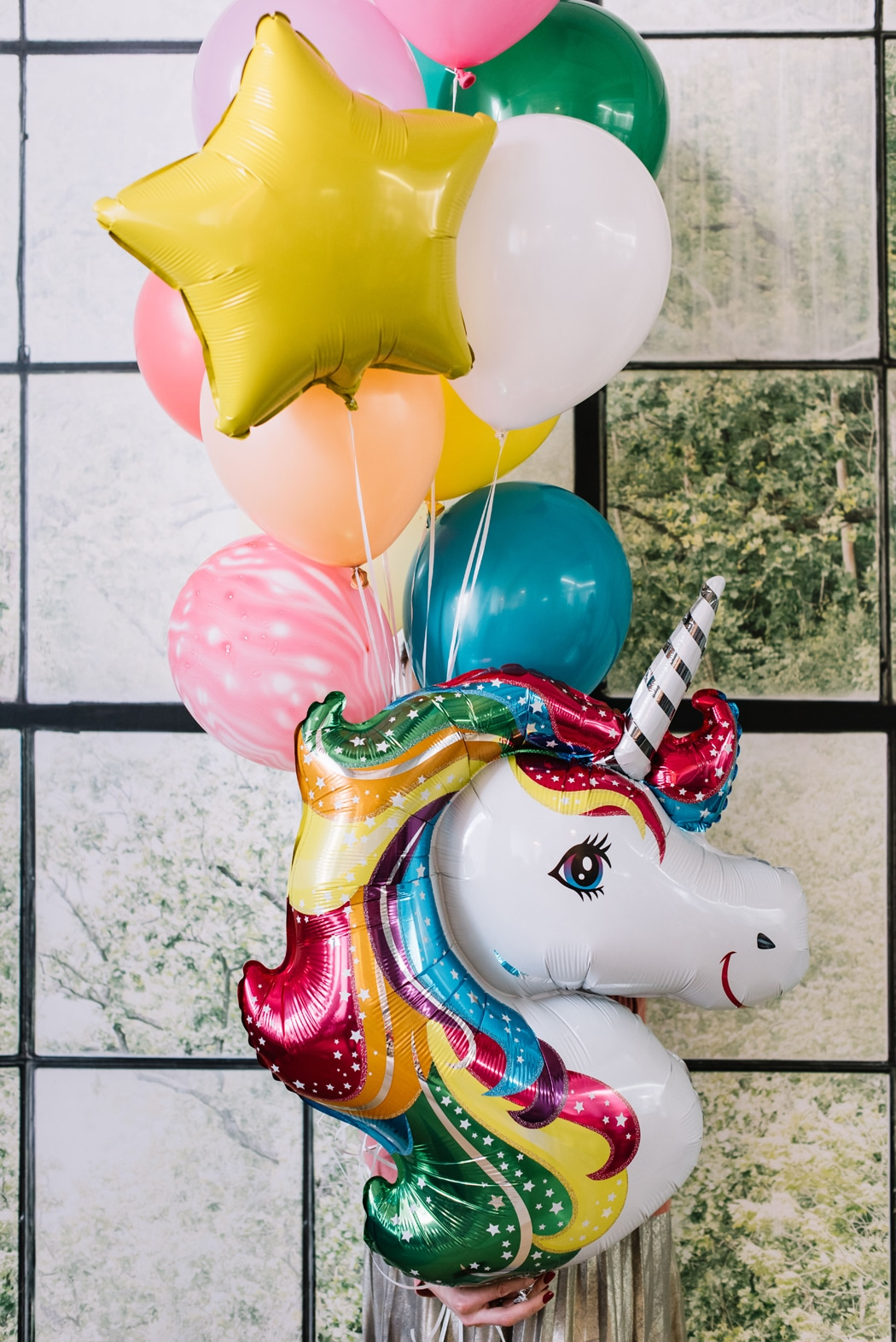 decoration anniversaire licorne