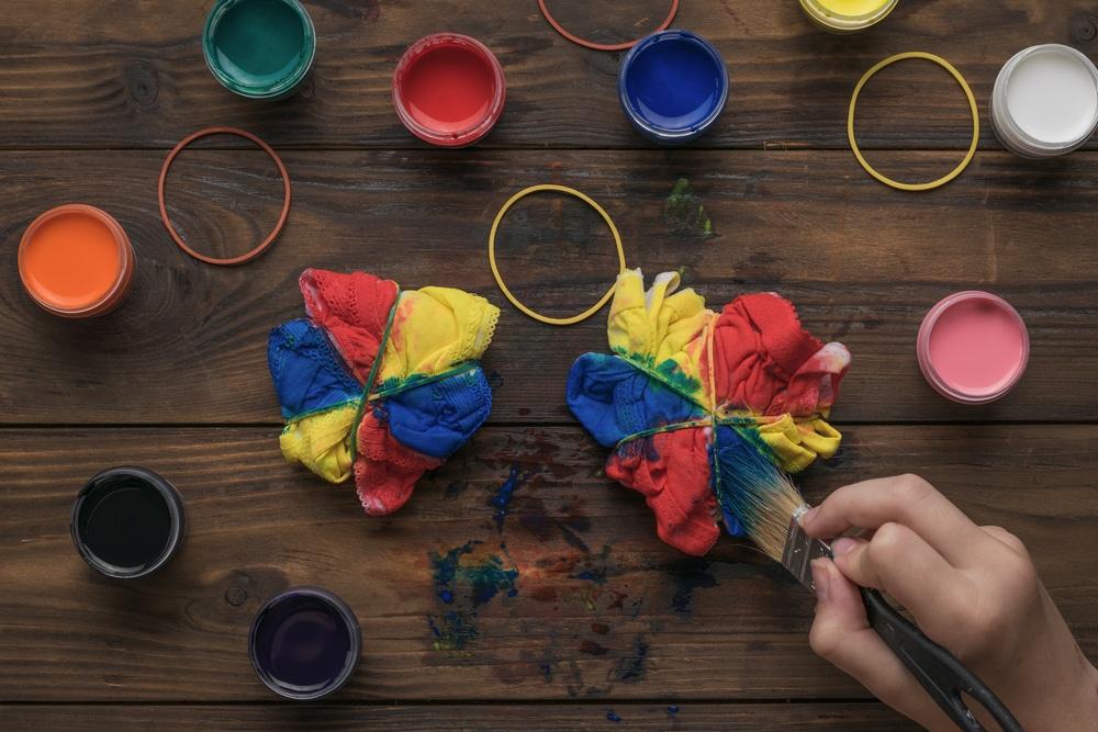 Tie and dye la tendance