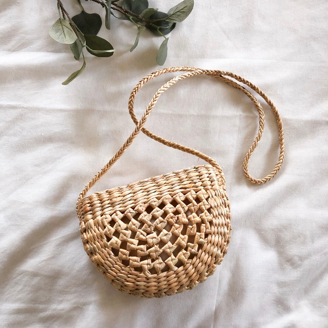 comment porter le sac en paille