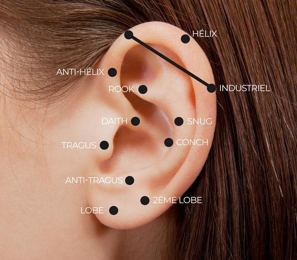 piercing oreilles noms